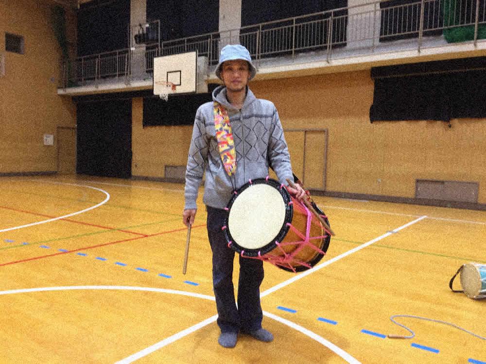 桶太鼓練習