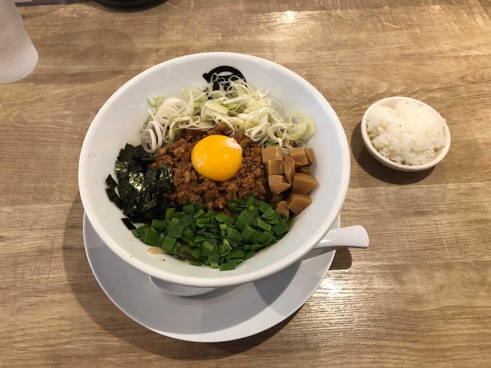 麺やマルショウ 台湾まぜそば
