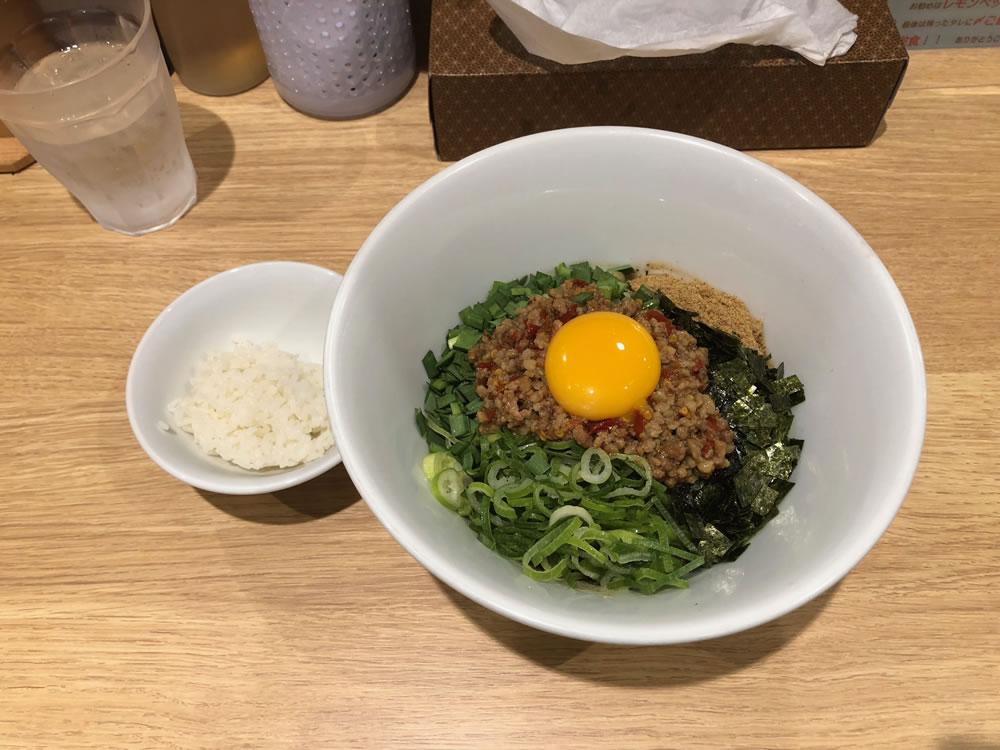 麺屋 きらめき 京都三条 (台湾まぜそば)