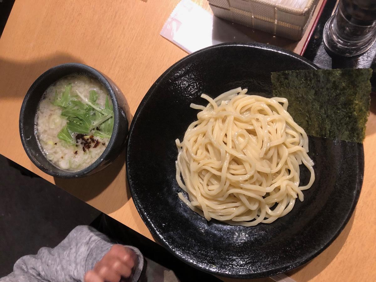 大阪・四天王寺夕陽ケ丘「つけ麺 雀」 塩つけ麺