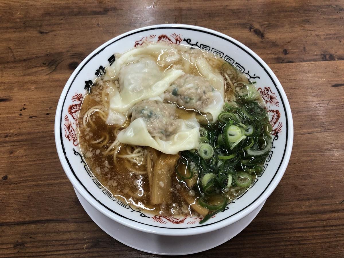 丸醤屋・ワンタン麺
