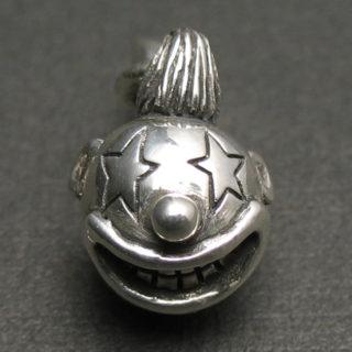 笑顔がかわいいピエロのシルバーペンダント「SMILE CLOWN」