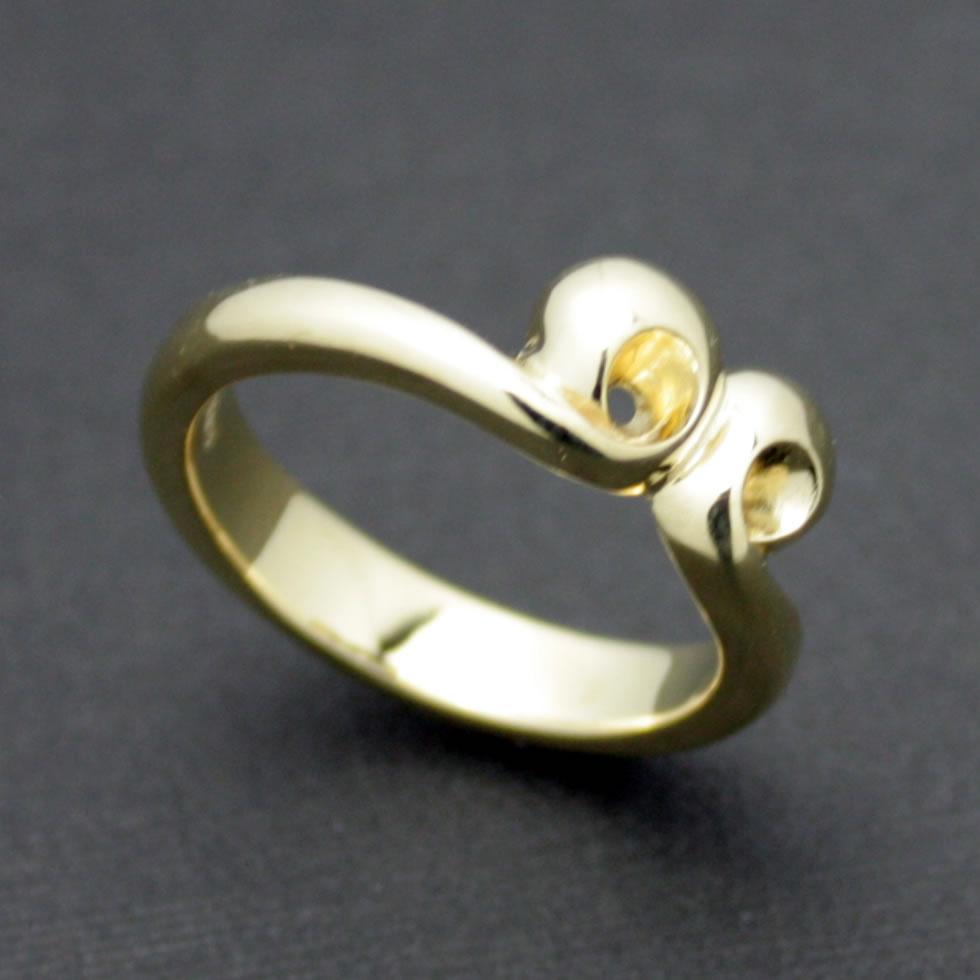 ゴールドで作るとさらにリアルな悟空の頭の輪っかリング「59 RING ゴールドカスタム」