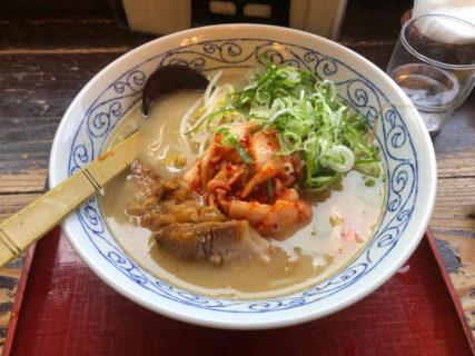 大阪・大正 「にんにくラーメン 天洋」1