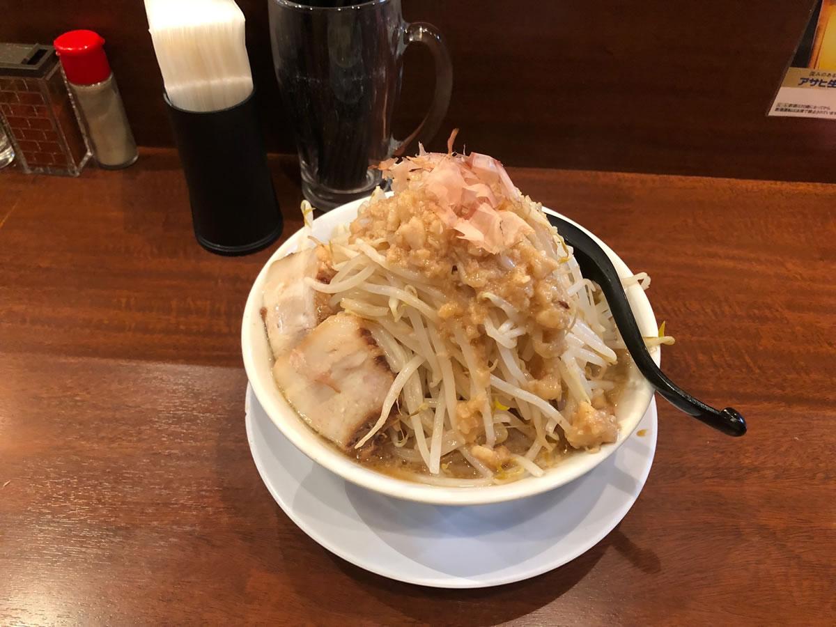 西本町・笑福 ラーメン(マシ)