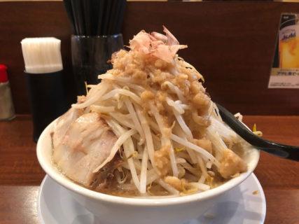 西本町・笑福 ラーメン(マシ)マウンテン